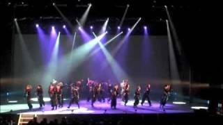 関東大学ダンス連盟σ公演 09 line m10 怒 hiphop