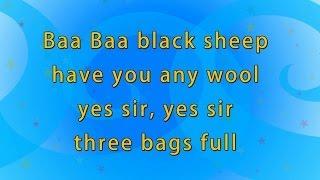 Karaoke Rhymes - Baa Baa Black Sheep