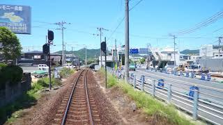 高徳線 讃岐津田駅→鶴羽駅