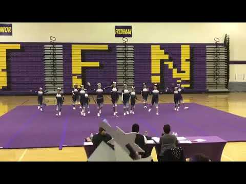 2018 Cheer Competition Ronald H. Brown's Varsity Eagle's