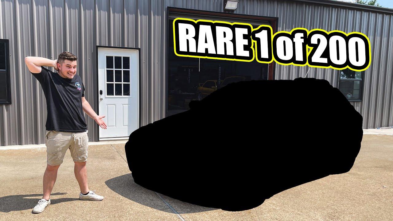 Buying a SUPER RARE 1 of 200 JDM Subaru