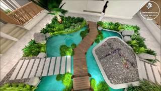 Căn hộ chung cư Biên Hòa Topaz Twins - Thiết kế giếng trời 3D