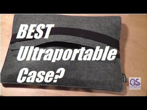 REVIEW  Sinoguo Gray Felt Laptop Sleeve (Macbook Air 13