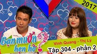 Cát Tường phấn khích với chàng tài xế 25 tuổi không biết cua gái | Vinh Quang - Thị Lý | BMHH 304 😂