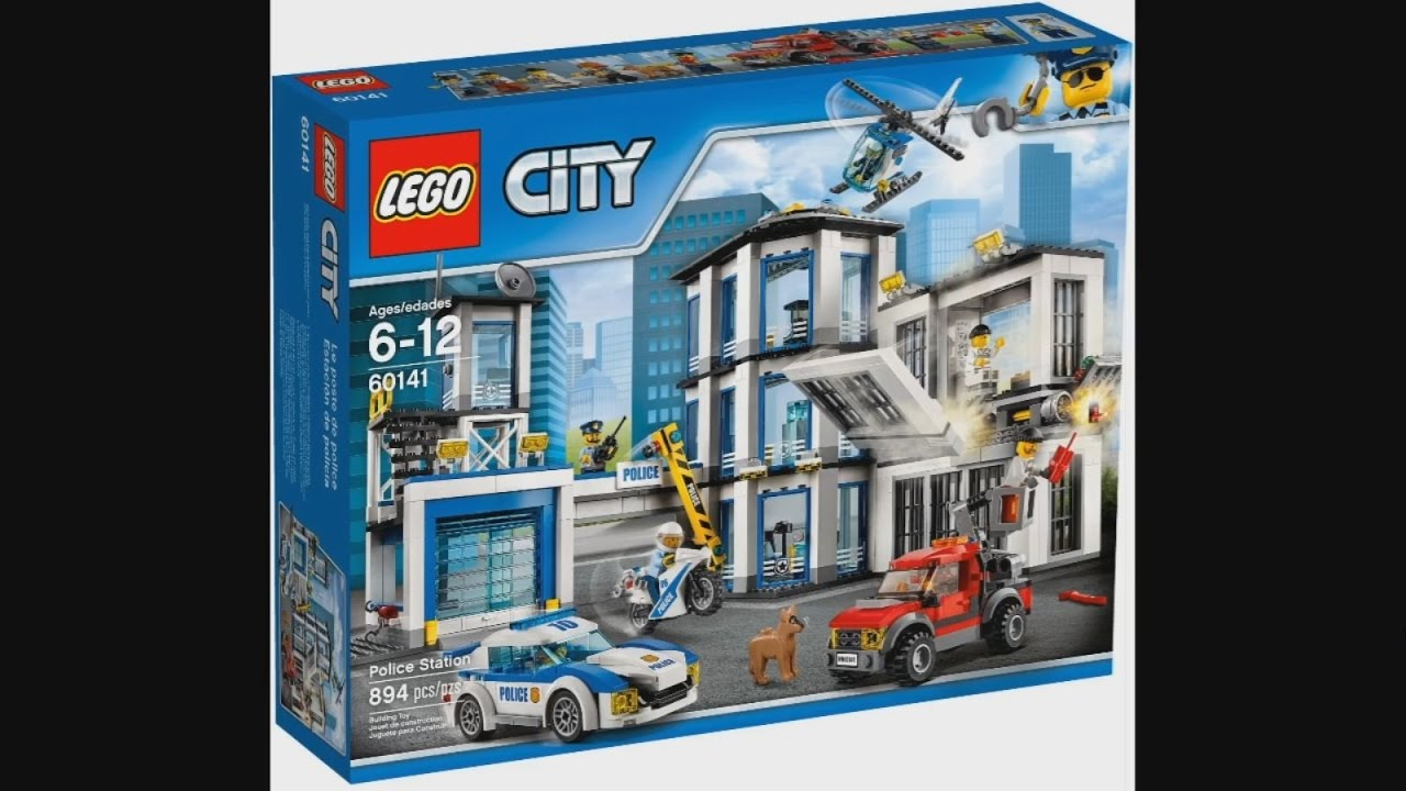 Lego Police Station Instruction Lego City Police Station Moc