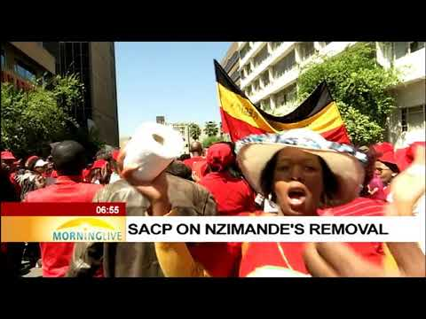 SACP on Nzimande's removal