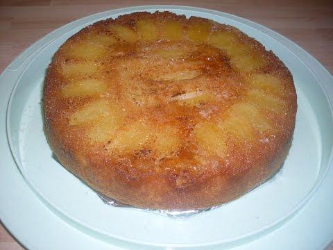 comment-faire-un-gâteau-renversé-aux-pommes-caramélisé-très-facilement?