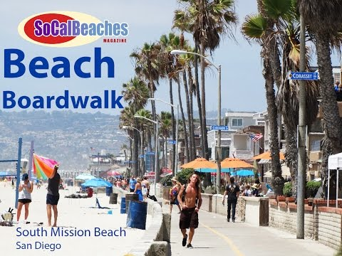Beach Boardwalk South Mission Beach San Diego