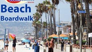Beach Boardwalk South Mission Beach San Diego