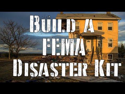 Build a FEMA Disaster Kit (Federal Emergency Management Agency)