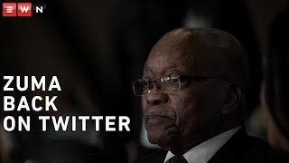 After a no-show in court due to apparent ill health, former President Jacob Zuma tweeted an image of himself aiming what appears to be an air rifle, sending social media into a frenzy.   #JacobZuma #ArmsDeal #SouthAfrica