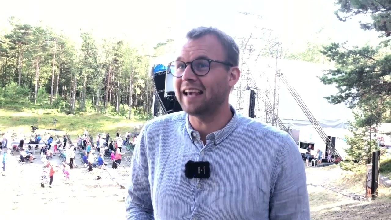 Kjell Ingolf Ropstad besøkter Himmel og Hav 2021