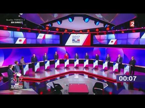 Wahlkampf in Frankreich: Terroranschlag in Paris überschattet TV-Duell