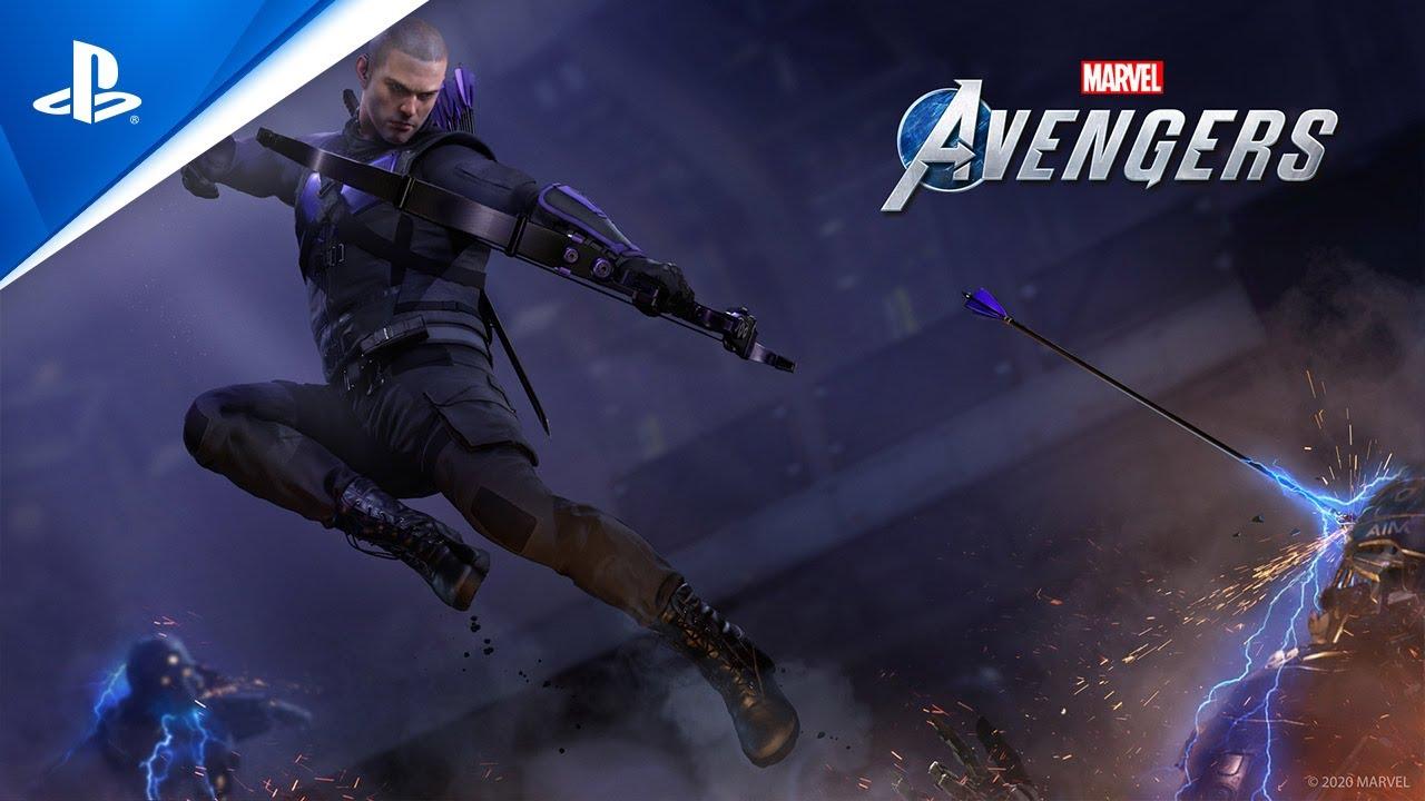 Marvel's Avengers - Hawkeye Teaser Trailer