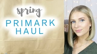 Spring PRIMARK Haul 2016 (Clothing & Homeware)