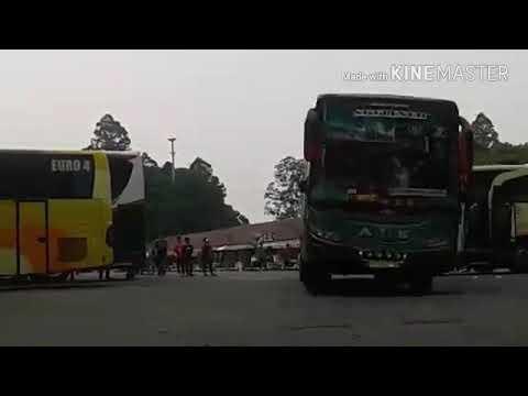Adu Telolet 3 Bus Sumatera di Poris ( ALS 23, Sinar Dempo, Lorena)