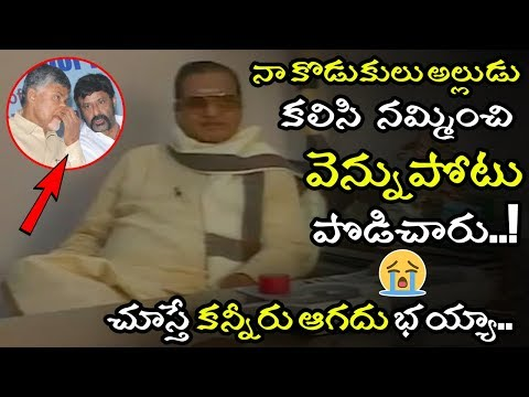 Sr NTR Last Interview About Chandrababu & Viceroy Hotel Incident || NTR Emotional Video || NSE