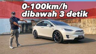 SUV TERKENCANG DI DUNIA   Tesla model X PERFORMANCE
