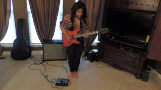 august alsina i luv this guitar cover