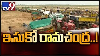 Huge rush at sand quarry in Krishna district - TV9