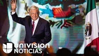 Toma de posesión de AMLO como presidente de México