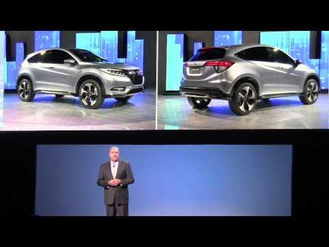 2015 Honda Fit subcompact car unveiled at 2014 NAIAS in Detroit