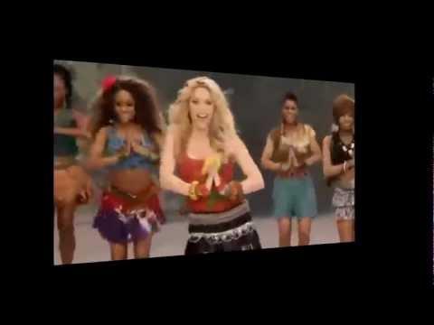 Shakira Lie's on Waka Waka Song!
