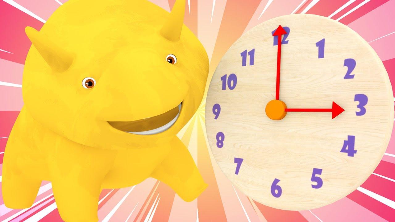 早教卡通— 戴诺和戴娜学习时间和饭点 - 和恐龙戴诺学习   👶 幼儿早教卡通: Chinese Madarin Educational Cartoons for Kids