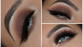 One of Amys Makeup Box's most viewed videos: A Simple Brown Smokey Eyeshadow Look | Amys Makeup Box
