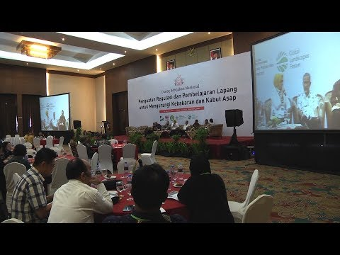 National Policy Dialogue: Laws and Best Practices for Reducing Fire and Haze