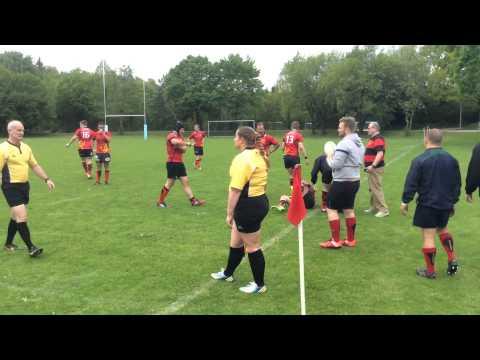 München RFC vs Düsseldorf Dragons - May 2015