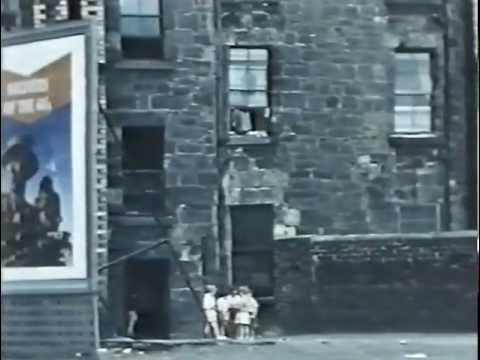 St Mungo's Medals - Short Film Clip of Gorbals 1950's and Outskirts of Glasgow