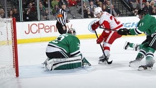 Tatar avoids defenders collision then scores
