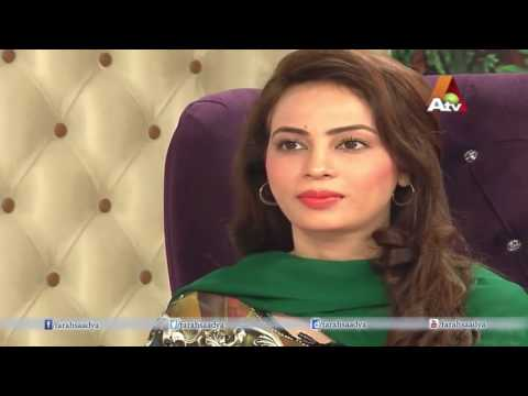 Morning With Farah Fereeha Idrees TV anchor/ journalist | post by faisal