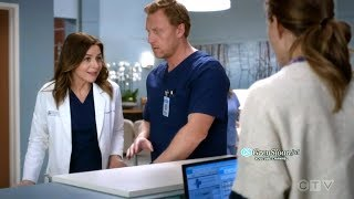 Grey's Anatomy 15x04 Amelia & Owen as Parents to a Teenager Betty - Owen's Mom Advice