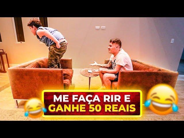 ME FAÇA RIR E GANHE 50 REAIS!