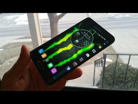 Samsung Galaxy Note Edge - SUPER CUSTOMIZED