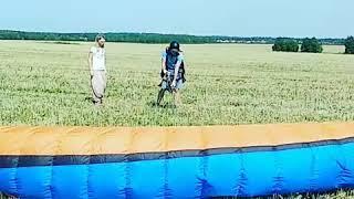 Обучение полетам на параплане - наземка. Клуб Мое Небо - Москва