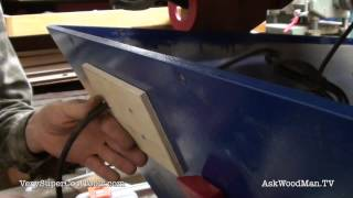 838. Changing Router Table Switch  • Table Saw Work Station Series