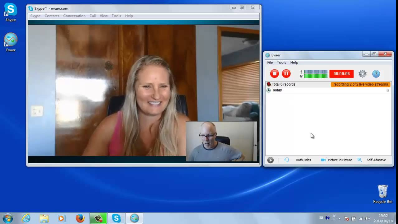how to record skype video calls easily using evaer video call recorder youtube