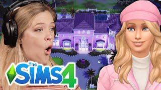 Kelsey Chooses A Barbie Dream House In The Sims 4