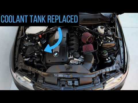 Fixing The Coolant Leak On My BMW! Expansion Tank Repair