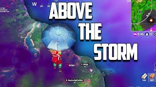 NEW GLITCH Fly Above The STORM - Fortnite Funny Fails and WTF Moments!
