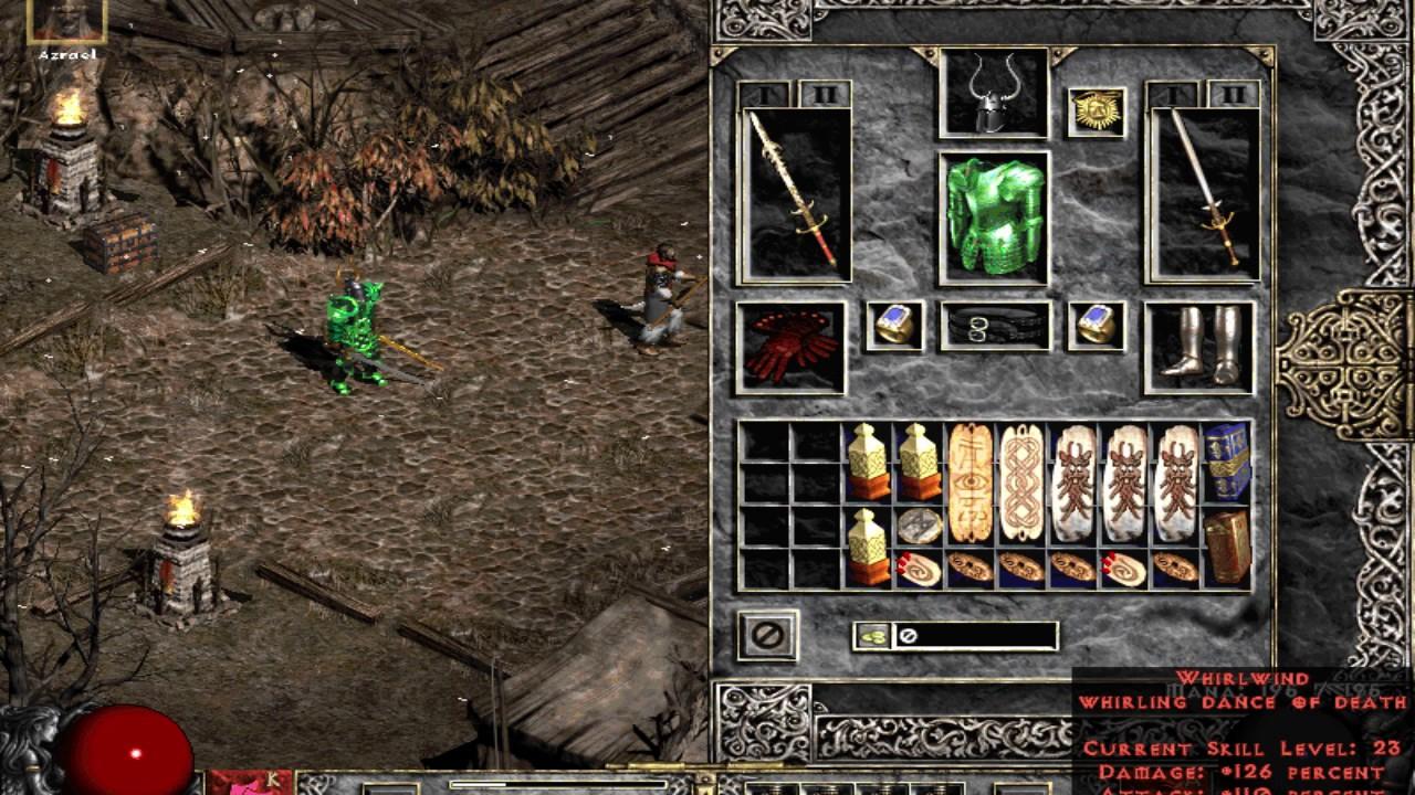 Diablo 2 Single Player WW Barb - YouTube