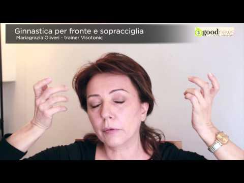 GINNASTICA PER FRONTE E SOPRACCIGLIA