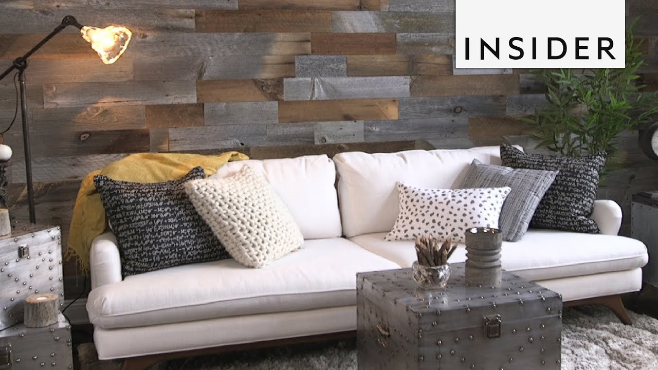 Wood Wall Living Room Beautiful Interior Designs Decorate Your Home With Removable Panels Youtube