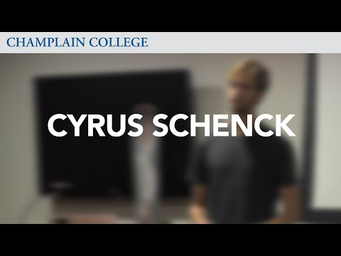 Cyrus Schenck: Speaking from Experience