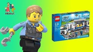 LEGO City Police Mobile Police Unit Building 60044