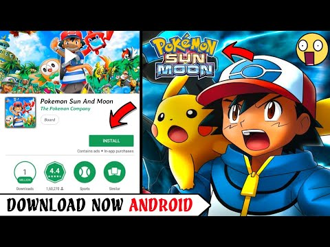 [400MB] Pokémon Ultra Sun And Moon Apk Download On Android | Realistic Graphics | New!