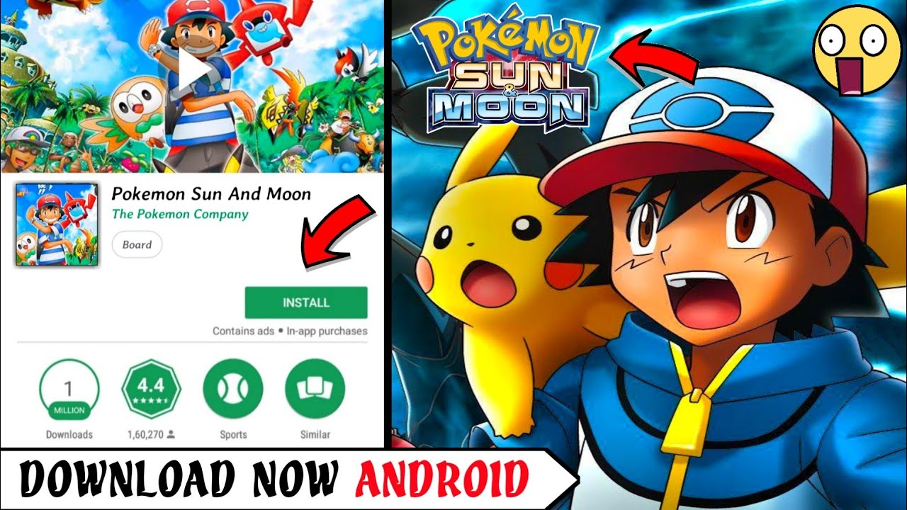 Pokemon Sun And Moon Download For Mac